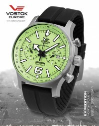 Vostok Europe Expedition North Pole 1 Titan Chronograph 6S21-5957241-S