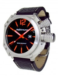 Haffstreuner HA009 XL Alarm Herrenuhr - 45 mm