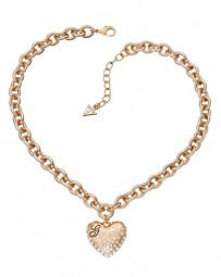 Guess Glossy Hearts Halskette UBN51435
