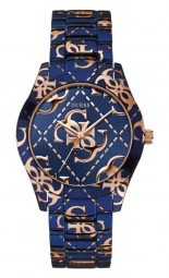 Guess Logo Crazed Damenuhr W0472L1