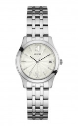 Guess Central Park Damenuhr W0769L1 - Edelstahlband - 32 mm