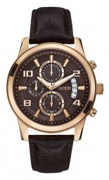 Guess Mens Dress Chronograph W0076G4