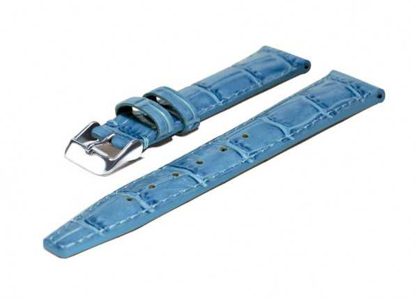 Chris Benz Lederband ONE Medium 200M CB-LB-H-MEDIUM - karibikblau - 18 mm