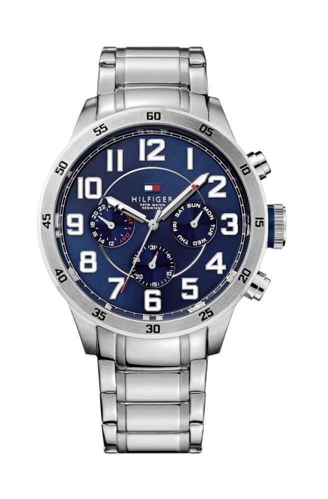 Tommy Hilfiger Casual Sport Multifunktionsuhr 1791053 - Edelstahlband - 46 mm