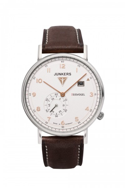 Junkers Eisvogel F13 Herrenuhr 6730-4 - Lederband - 40 mm