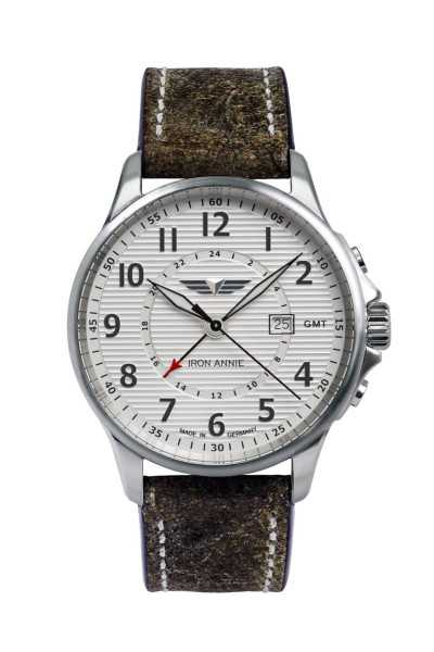 Iron Annie Herrenuhr 5840-1 Lederband 42 mm