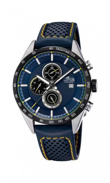 Lotus Herren Chronograph 18370-2 - Lederband - 43 mm