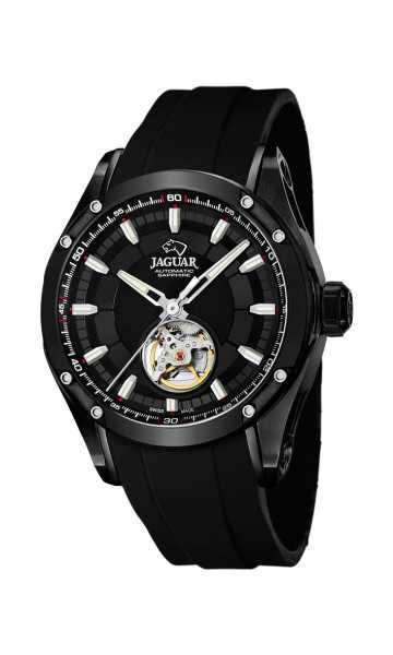 Jaguar Special Edition Herren Automatikuhr J813-1 - PU-Band - 44 mm
