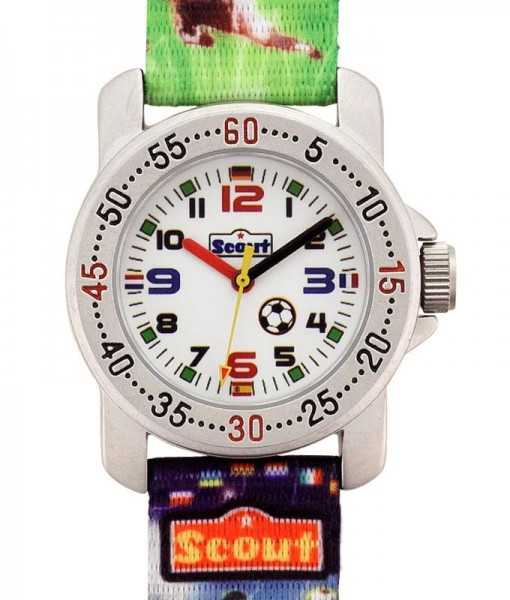 Scout 376026 Action Boys Kinderuhr Fußball