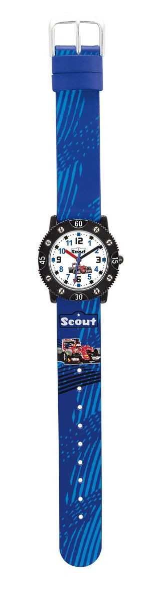Scout Screwdiver Jungenuhr 316014 - Rennwagen - 29 mm