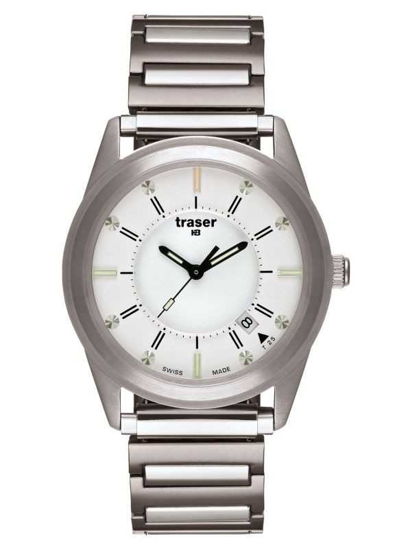 Traser H3 Classic Translucent Silver Uhr - 100342