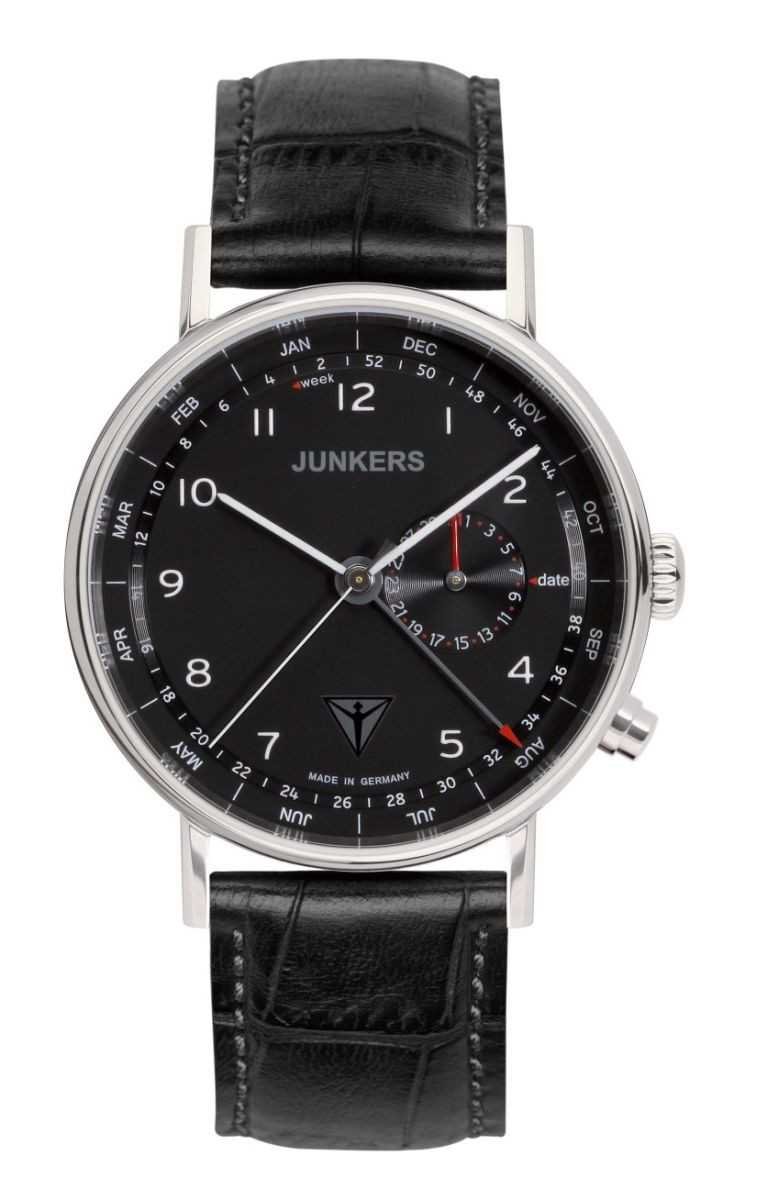 Junkers Eisvogel F13 Herrenuhr 6734-2 - Lederband - 40 mm