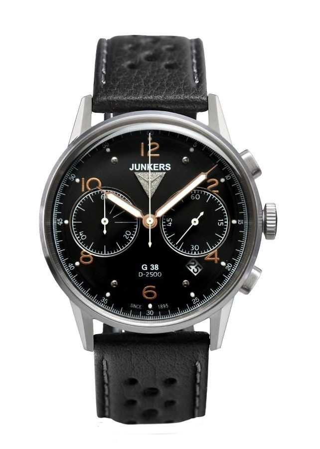 Junkers G38 Chronograph Fliegeruhr 6984-5