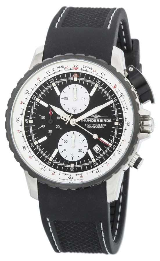 Thunderbirds Fighting Black Chronograph TB1057-01