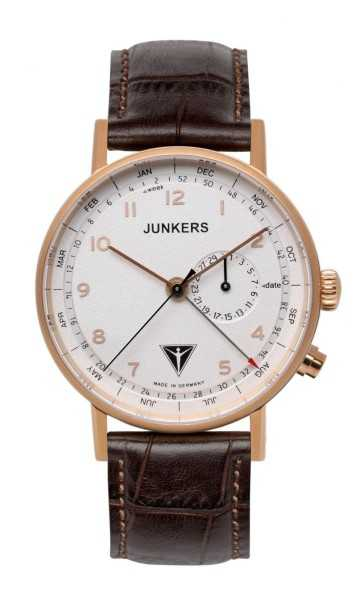Junkers Eisvogel F13 Herrenuhr 6736-4 - Lederband - 40 mm