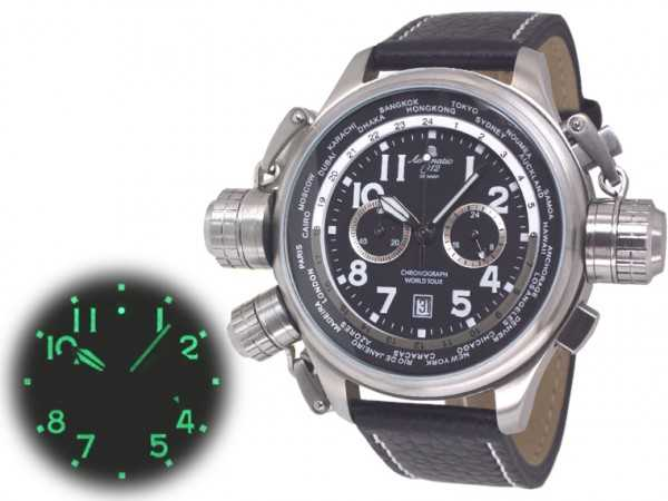 Aeromatic A1413 World Tour XXL Chronograph