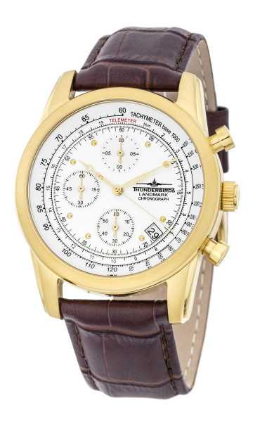 Thunderbirds Landmark Chronograph TB1001-04 - Lederband - 40 mm