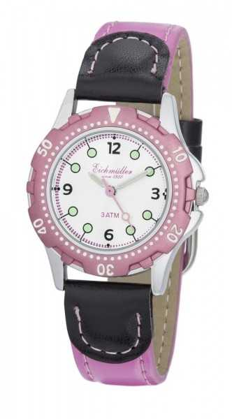 Eichmüller 2021/03 Taucherlook Kinderuhr pink