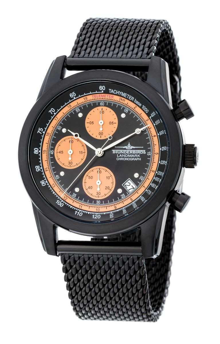 Thunderbirds Landmark Chronograph TB1000-04 - Milanaiseband - 40 mm