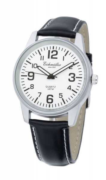 Eichmüller Herrenuhr 7063-LSW - Lederband - 40 mm
