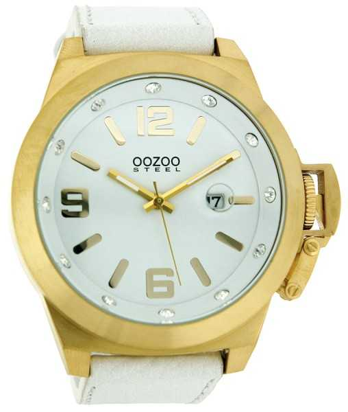 Oozoo Steel OS0137 XXL Herrenuhr gold