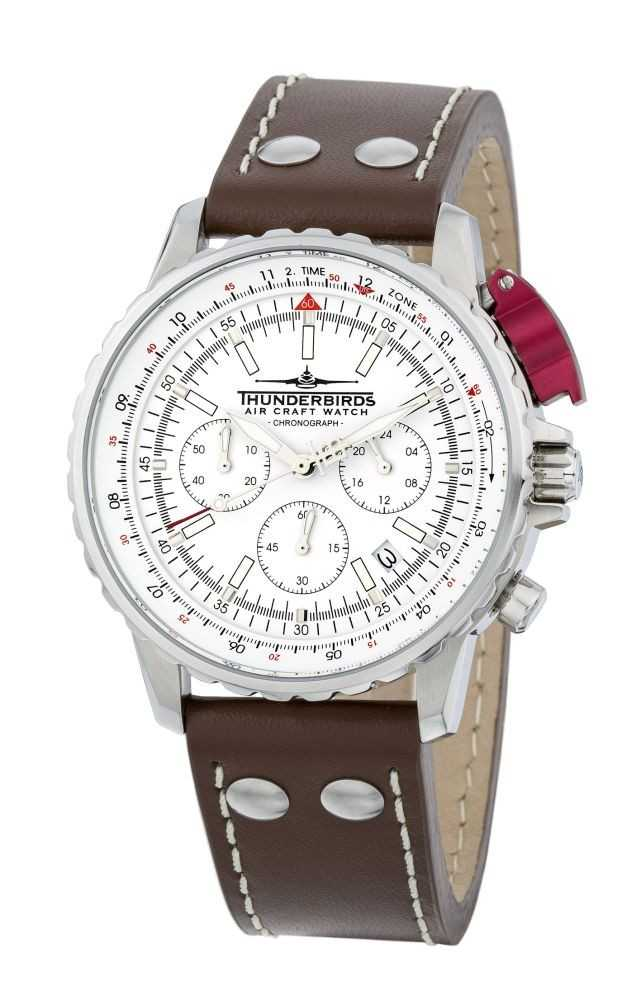 Thunderbirds Fighting Steel Chronograph TB1048-02