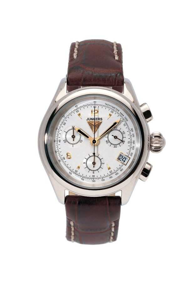 Junkers 6289-1 Himalaya Pearls Lady Chronograph Fliegeruhr