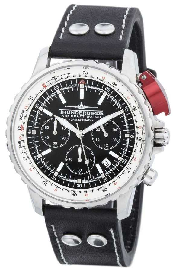 Thunderbirds Fighting Steel Chronograph TB1048-01