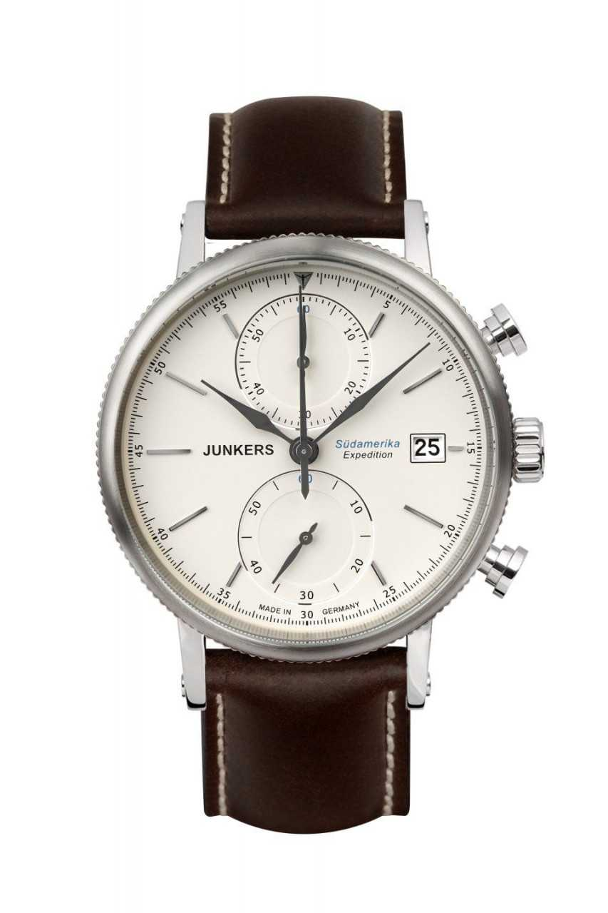 Junkers Expedition Südamerika Chronograph 6588-5 - Lederband - 42 mm