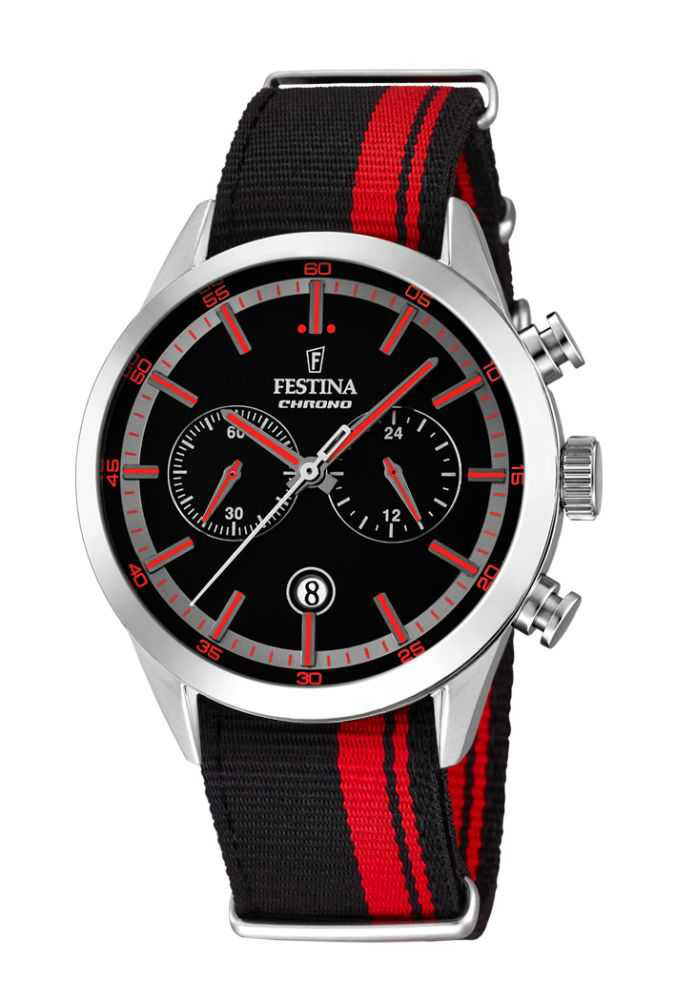 festina sport herren chronograph f16827 4 ebay. Black Bedroom Furniture Sets. Home Design Ideas