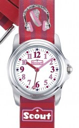 Scout Sweeties Mädchenuhr 301023 - PU-Band - 28 mm