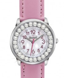 Scout The Bling-Bling Collection Mädchenuhr 381009 - PU-Band - 30 mm