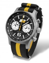 Vostok Europe ADAC Rallye BaWü Limited Edition Chronograph RBW-595-N - Textilband - 47 mm